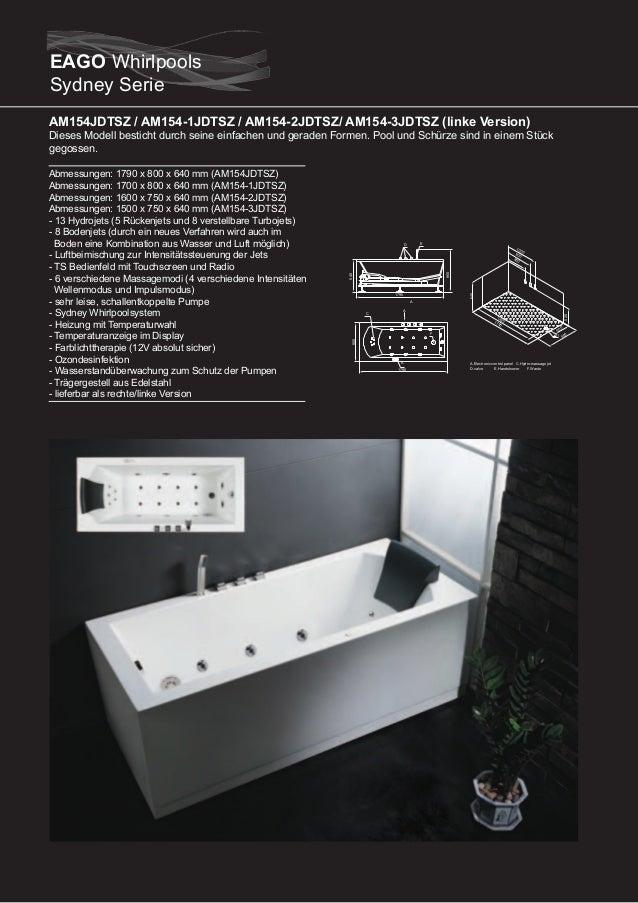 AM168JDTSZ  Dieser Whirlpool beeindruckt durch seinen extra großen Wasserfall und sein modernes Design und ist ideal zum r...