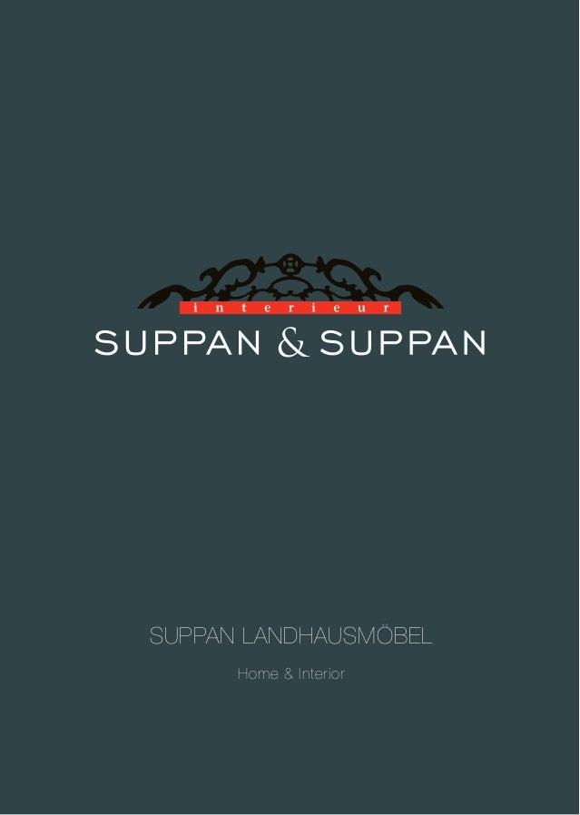 Katalog Landhausmöbel - Suppan & Suppan