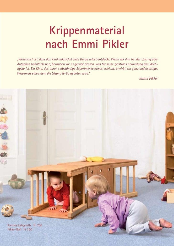 Katalog 2010 for Raumgestaltung emmi pikler