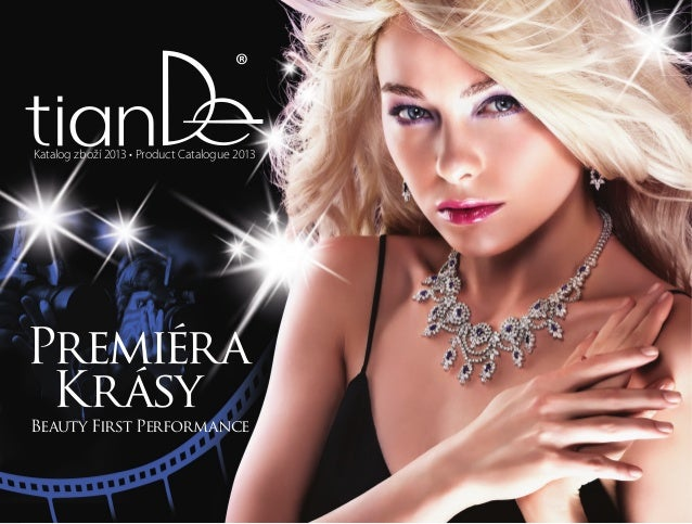 Katalog zboží 2013 • Product Catalogue 2013 Premiéra Krásy Beauty First Performance