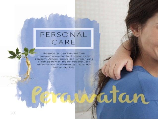"""PERSONAL CARE  """" Rangkaian produk Personal Care merupakan perawatan total dengan variasi  _;  beragam.  Dengan formula dan..."""