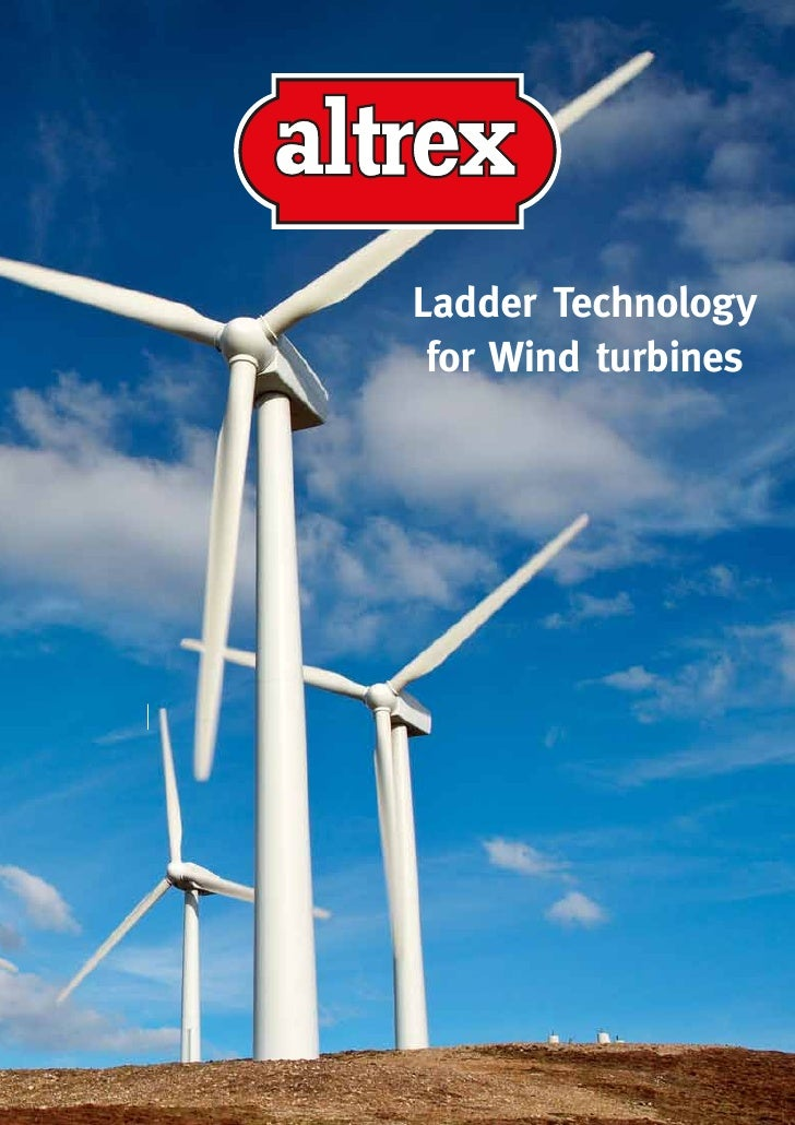 Catalog Altrex Windturbine Ladder