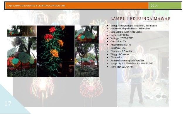 Daftar Harga Lampu Hias Jalan Model SHINYOKU 2014