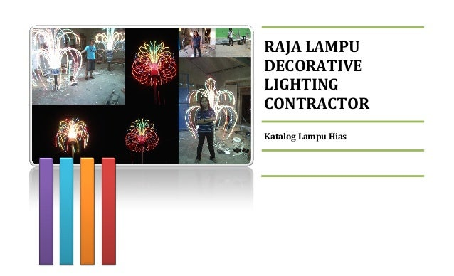 RAJA LAMPU DECORATIVE LIGHTING CONTRACTOR Katalog Lampu Hias