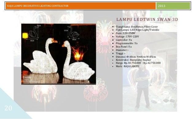 Daftar Harga Dan Katalog Lampu Hias 2014