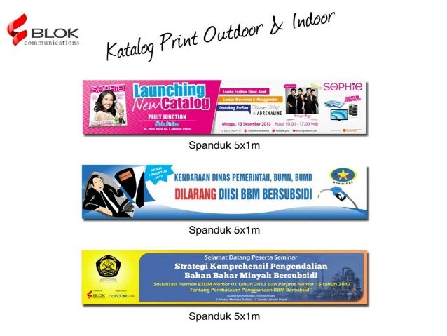 Katalog Merchandise Slide 3