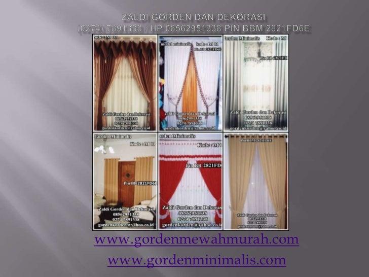 www.gordenmewahmurah.com www.gordenminimalis.com