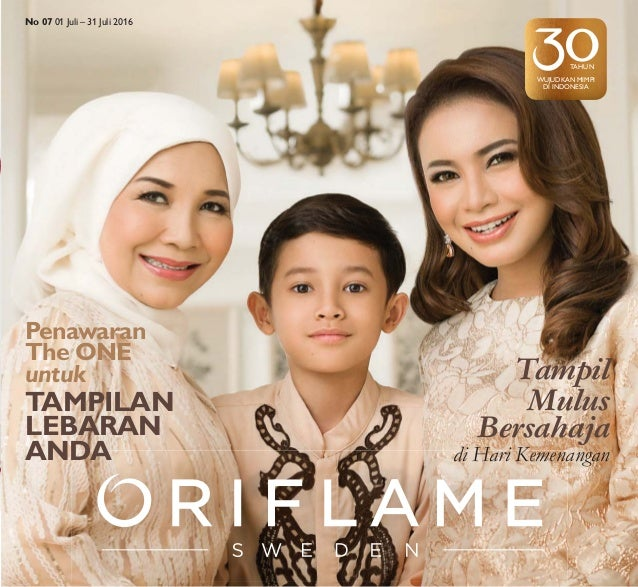 Katalog Oriflame Juli 2016 Indonesia