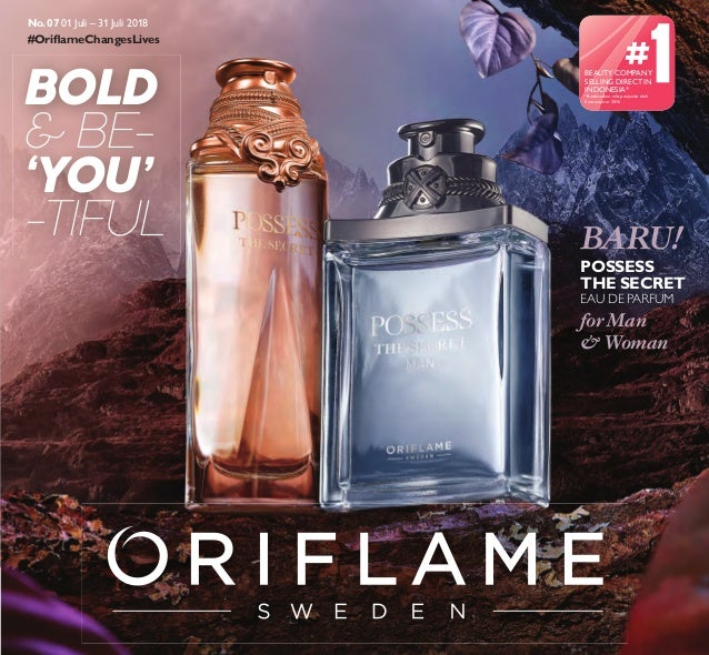 Katalog oriflame juli 2018 promo online parfum wanita possess the secret Slide 2