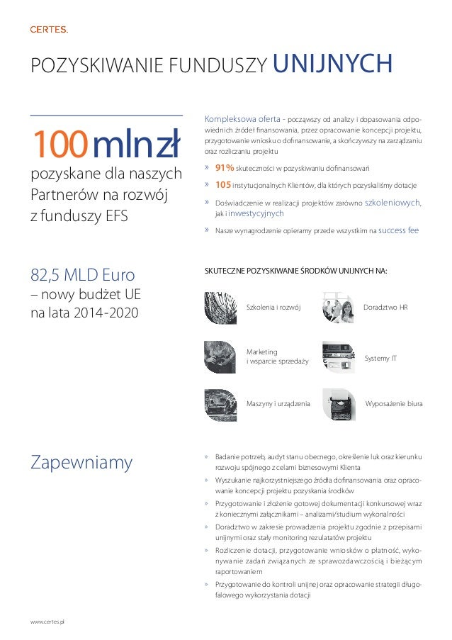 Katalog usług Certes Slide 2