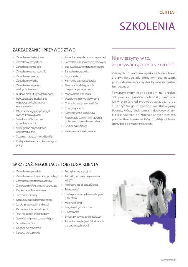 Katalog usług Certes Slide 3