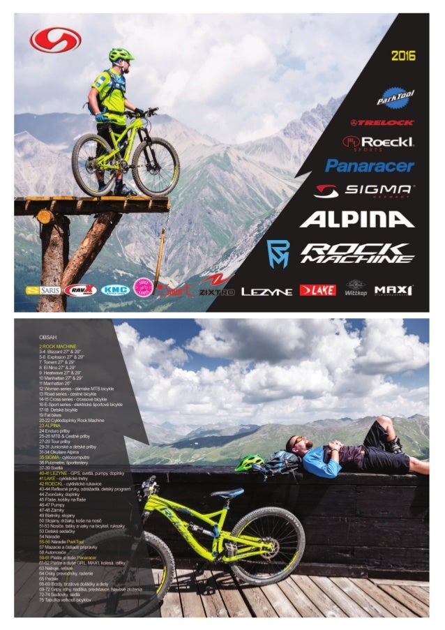 Katalog bicyklov a cyklodoplnkov 2016 || SLOGER-EU s.r.o.