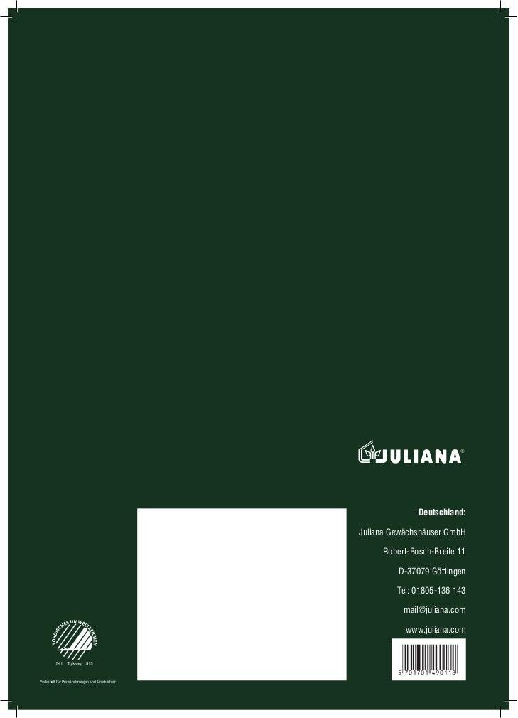 katalog szklarni ogrodowych juliana 2011 e. Black Bedroom Furniture Sets. Home Design Ideas