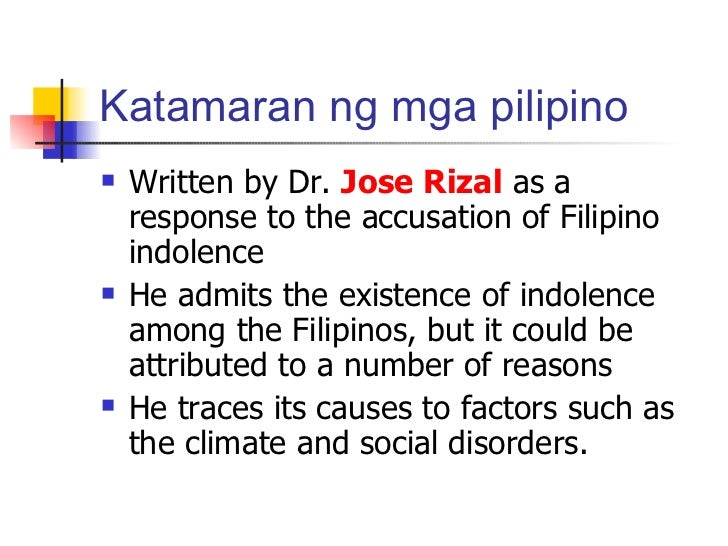 """dr jose rizal s impact on filipinos The hero sunstar in over a day from now, the country will again celebrate a hero's sacrifice in the fight for justice for a colony dr jose rizal, who on dec 30, 1896 was executed by the friar leaders in the philippines for his """"subversive""""."""