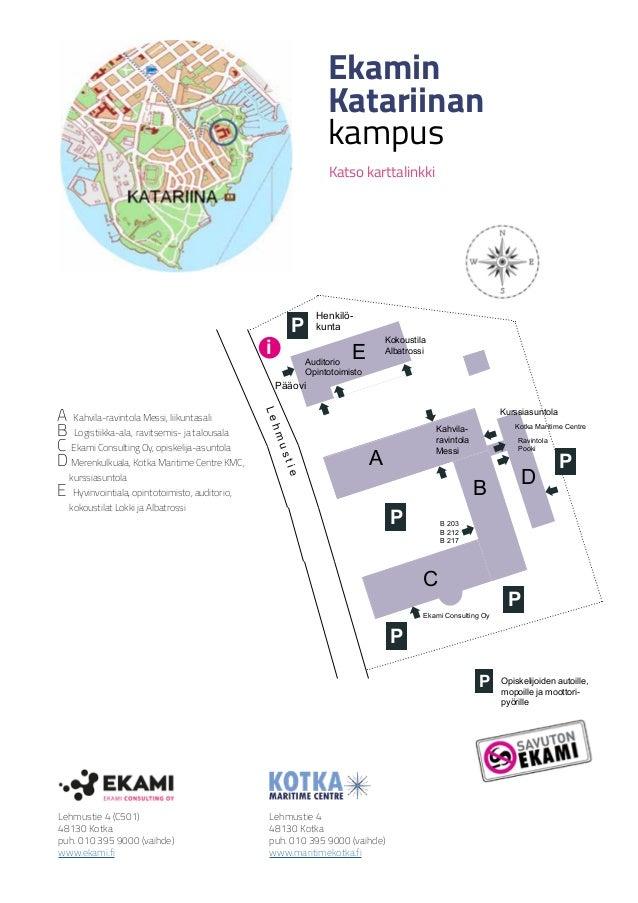 Katariinan Kartta Kmc Ekami Cons 2018