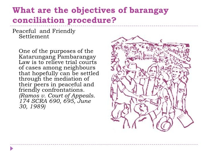 the revised katarungang pambarangay law Handbook on katarungang pambarangay by garcia for law book, political law, local government published by rex book store  the 1991 revised rules on summary .