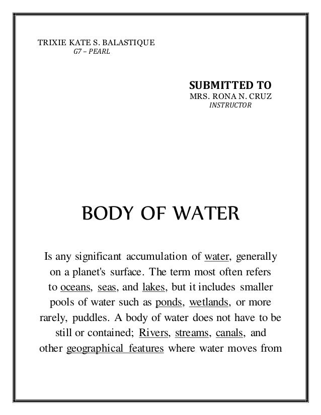 Landforms and Body of water in philippines – Landforms and Bodies of Water Worksheet