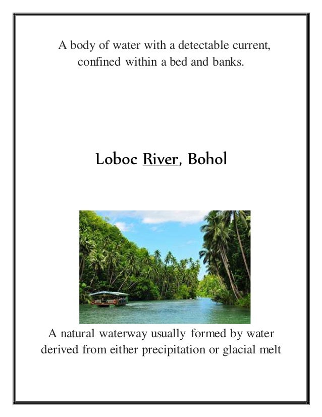 Landforms and body of water in philippines stream in bicol 4 sciox Image collections