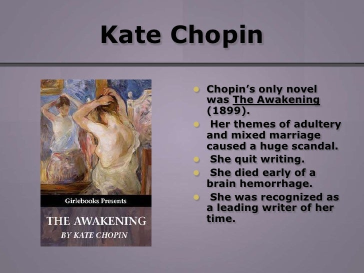 an analysis of the awakening essay by kate chopin An introduction to the awakening by kate chopin learn about the book and the historical context in which it was written.
