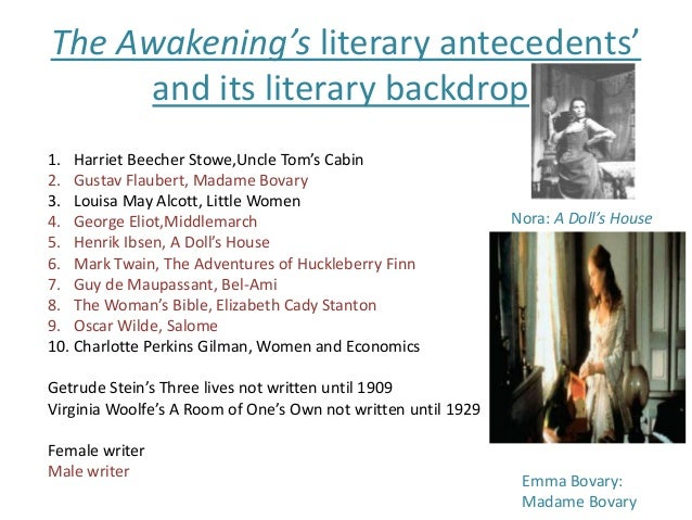 a comparison of the awakening and madame bovary Madame bovary comparison essay  the awakening madame bovary by gustave flaubert and the awakening by kate chopin both.