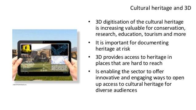 Sharing 3D Cultural Heritage Slide 3