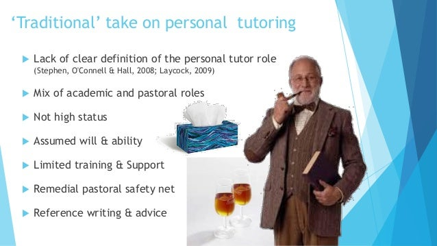 the changing role of the tutor Employability: the role of the academic tutor posted on may 24, 2017 by drsang employability may be an ugly word, but.