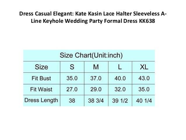 ba0b01590 Dress Casual Elegant: Kate Kasin Lace Halter Sleeveless A- Line Keyhole  Wedding ...