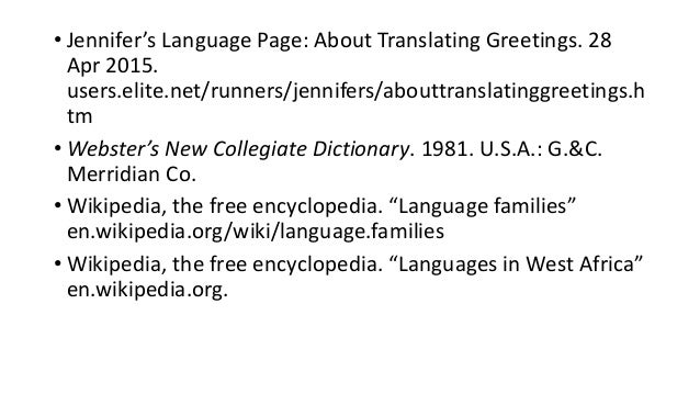 Translating greetings 29 jennifers language page about translating greetings m4hsunfo