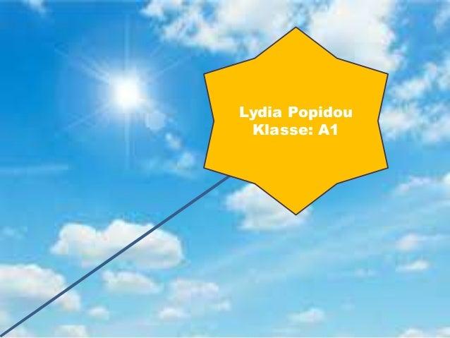 Lydia Popidou Klasse: A1