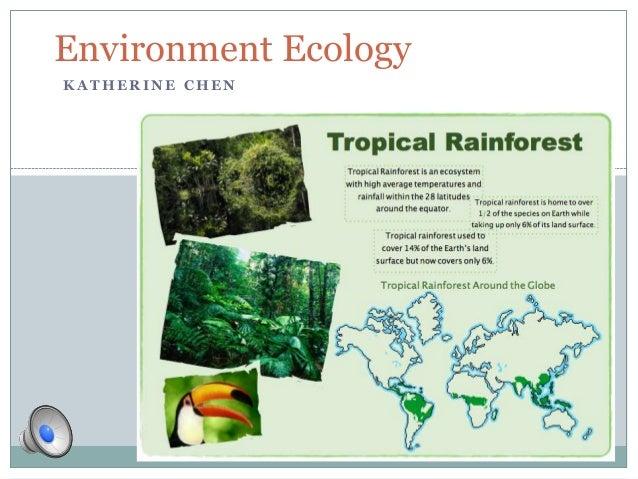 K A T H E R I N E C H E NEnvironment Ecology