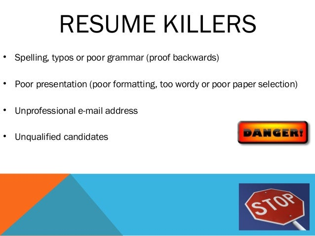 Resume Examples And Resume Writing Tips