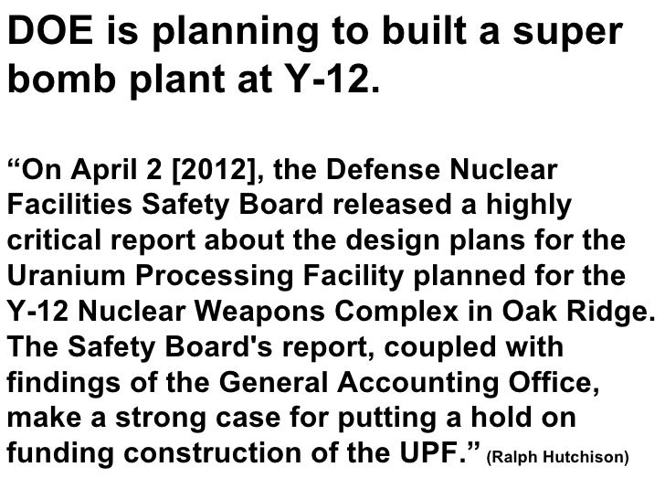 Kathleen Ferris Nuclear Issues in TN Pt. 2