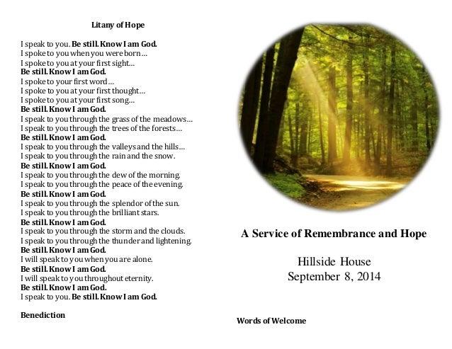 Interfaith Memorial Service