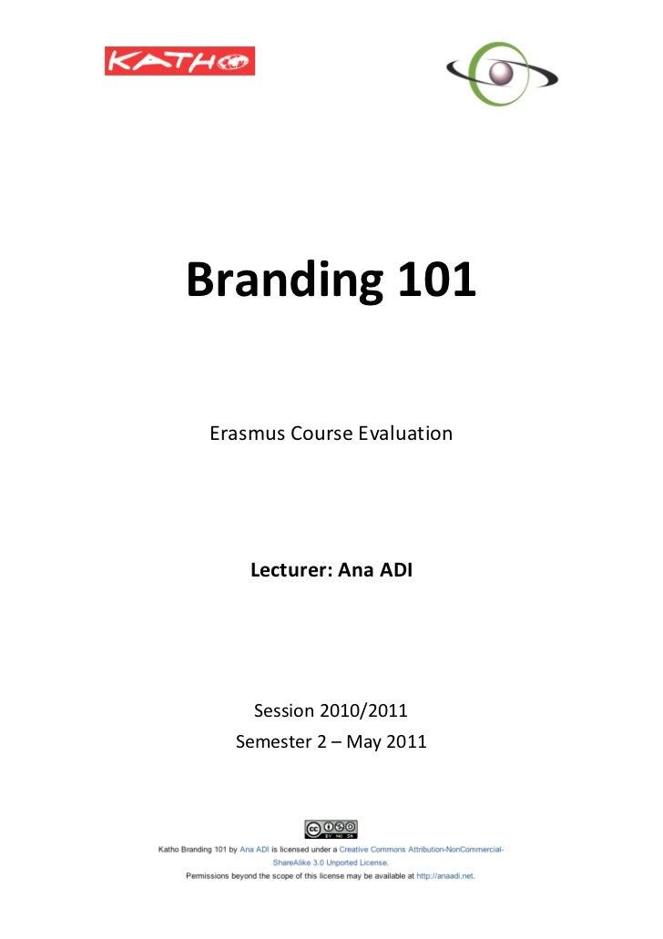 Branding101                                                                                  ...