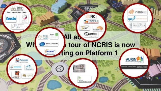 All aboard! Whistle Stop tour of NCRIS is now departing on Platform 1 Heavy Ion Accelerator Facility