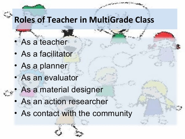 multigrade teacher and students Module mg3 teaching in the multigrade classroom 1 student support materials teaching in the multigrade classroom module the multigrade teacher needs a strategy to help with planning so that student support material @.