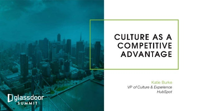 Katie Burke VP of Culture & Experience! HubSpot