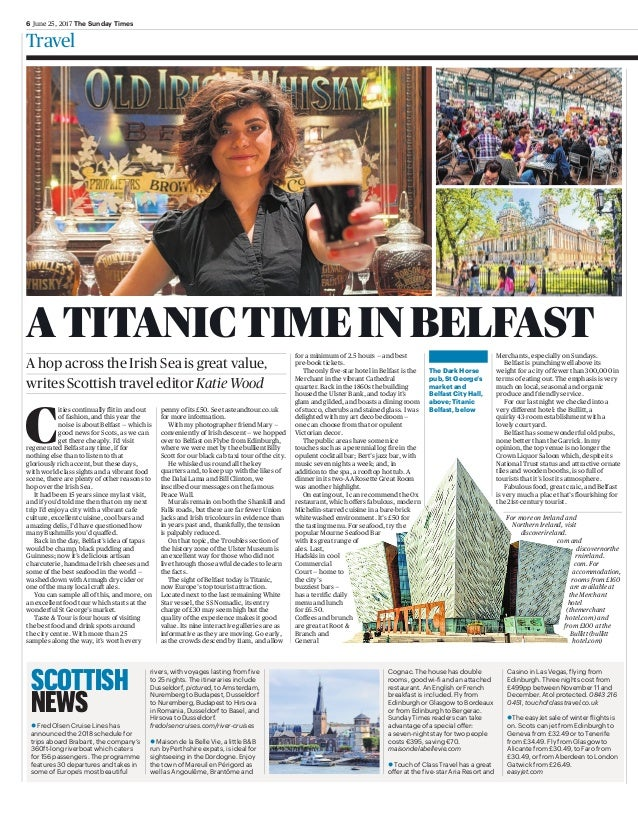 6 June 25, 2017 The Sunday Times Travel penny of its £50. See tasteandtour.co.uk for more information. With my photographe...