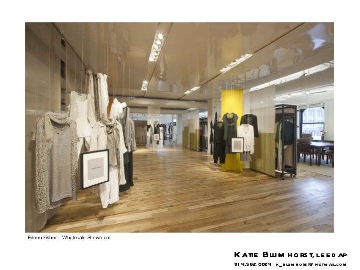 Eileen Fisher – Wholesale Showroom