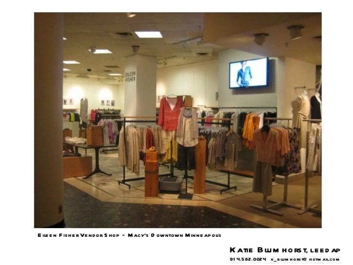 Eileen Fisher Vendor Shop – Macy's Downtown Minneapolis