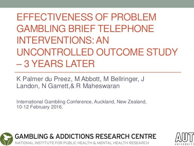 Problem gambling interventions proctor and gamble leadership training