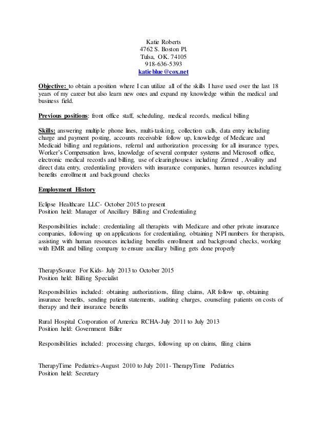 katie roberts resume