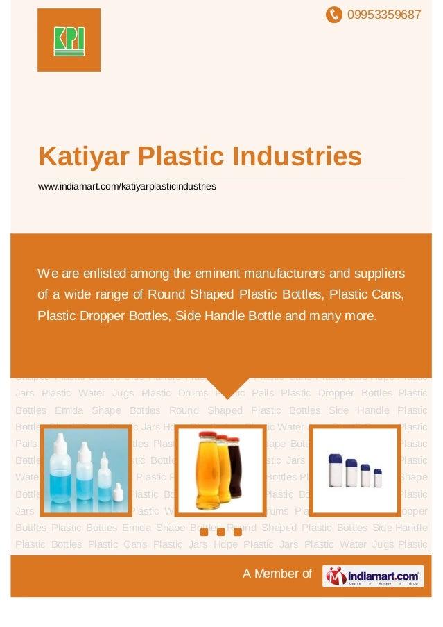09953359687A Member ofKatiyar Plastic Industrieswww.indiamart.com/katiyarplasticindustriesPlastic Dropper Bottles Plastic ...
