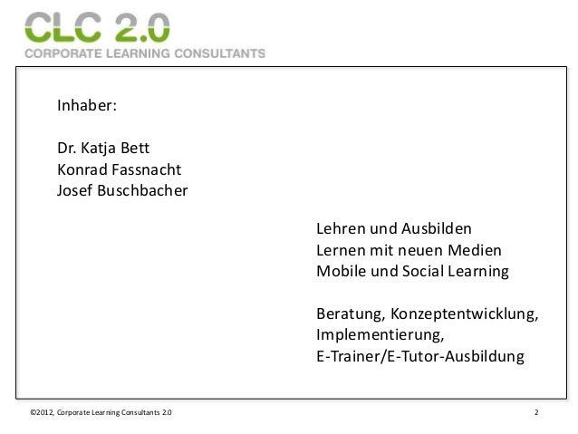 Inhaber:       Dr. Katja Bett       Konrad Fassnacht       Josef Buschbacher                                            Le...