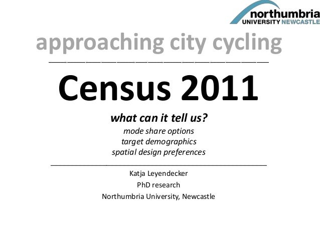 approaching city cycling_______________________________________________________________________ Census 2011 what can it te...