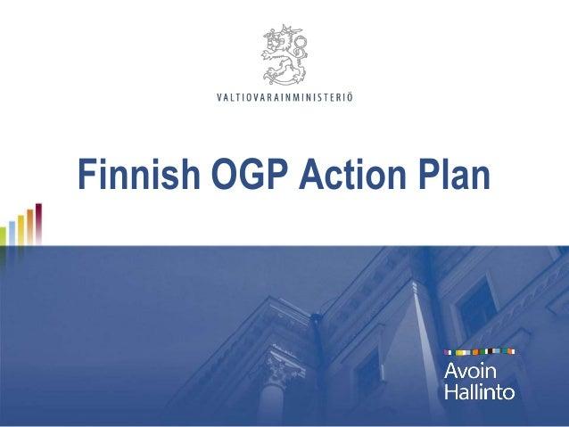 Finnish OGP Action Plan
