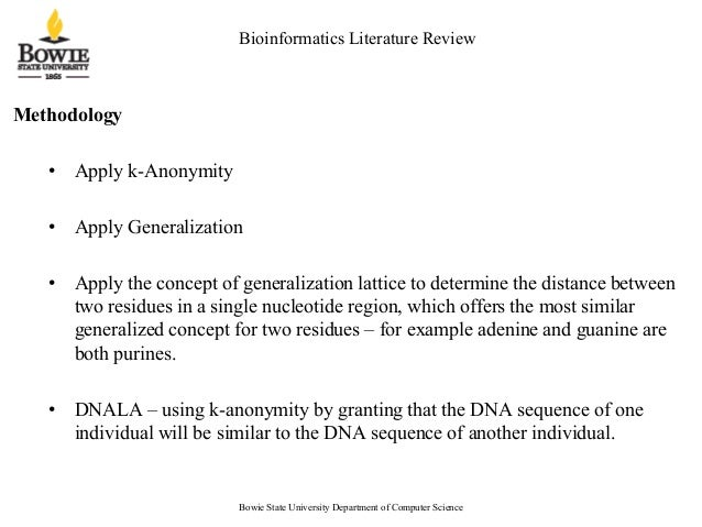 Dna literature review