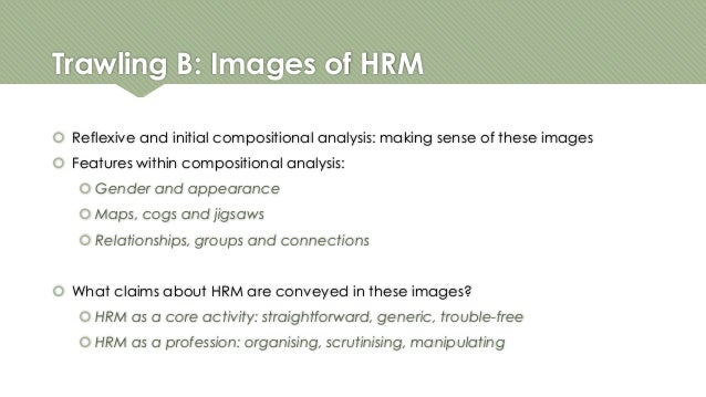 qualitative research on hrm In the proposed study, recent trends in human resource management were  qualitatively analyzed using ahp ahp is a technique for analyzing diverse.
