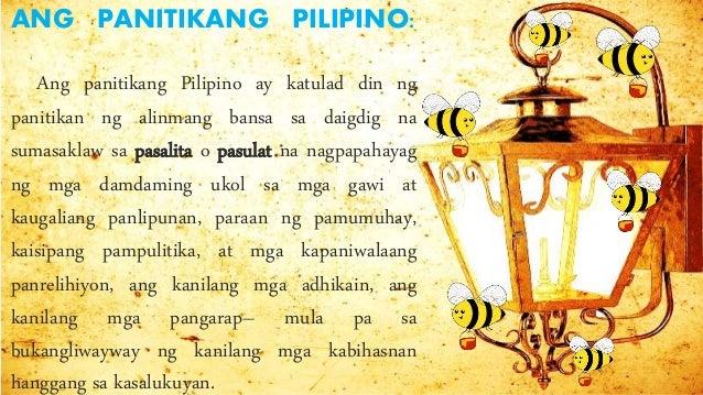 panitikinag pilipino Panitikang pilipino 23k likes panitikan -salamin ng ating lahi.