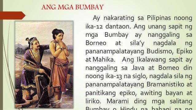 Ang pagdating ng mga malay sa pilipinas